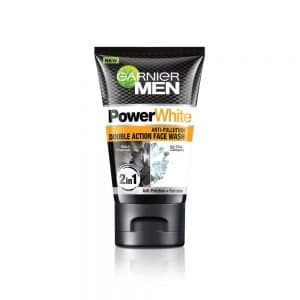 Garnier Men Power White Anti-Pollution Double Action Facewash