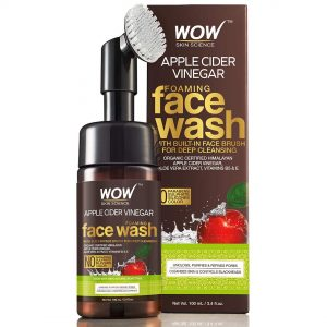 WOW Organic Apple Cider Vinegar Foaming Face Wash