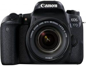 Canon EOS 77D 24.2MP Digital SLR Camera + EF-S 18-55 mm 4-5.6 is STM Lens