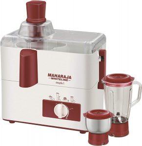 Maharaja Whiteline Mark 1 Happiness 450-Watt Juicer Mixer Grinder