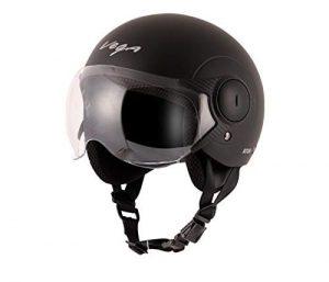 Vega Atom Dull Black Helmet