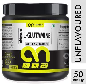 Abbzorb Nutrition L-Glutamine Powder