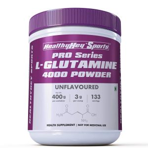 HealthyHey Sports Glutamine Powder