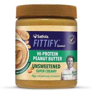 Saffola Fittify Gourmet Healthy Unsweetened Peanut Butter
