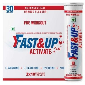 Fast&Up Activate Pre-Workout Supplement