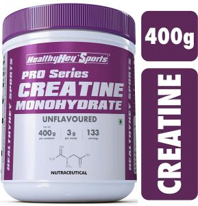 HealthyHey Sports Creatine Monohydrate