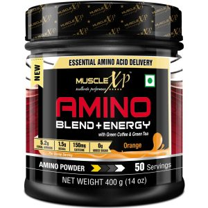 MuscleXP Amino Blend and Energy Powder Pre Workout