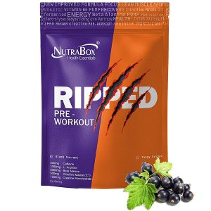 NUTRABOX Ripped Pre Workout Gym Supplement
