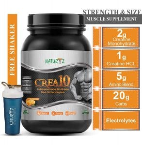 Naturyz Crea10 Creatine Supplement